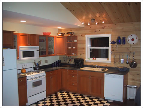 Gourmet kitchen for your dining delights